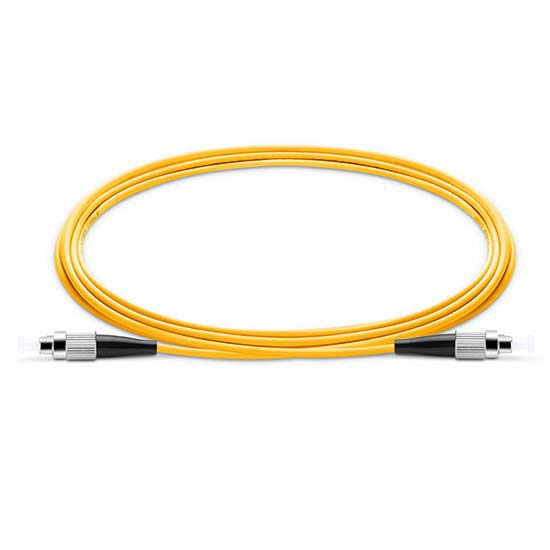 FC UPC to FC UPC Simplex 2.0mm PVC (OFNR) 9/125 Single Mode Fiber Patch Cable